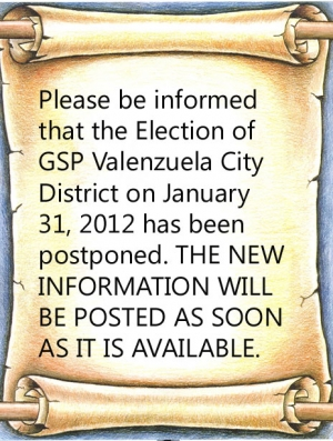 Election and General Meeting of GSP Valenzuela City District
