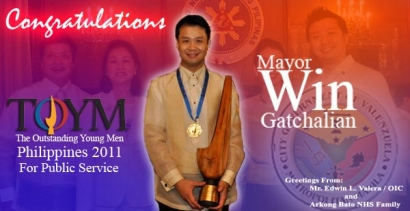 Congratulations Mayor Sherwin Gatchalian