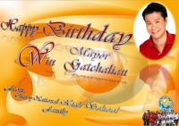 Happy Birthday Mayor Win Gatchalian from Bignay National High School