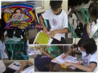Arkong Bato National High School celebrates 2011 Nutrition Month