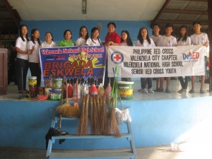 Brigada Eskwela 2011 in Valenzuela National High School