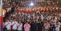 Valenzuela City Government Employees Welcome New Local Chief Executive