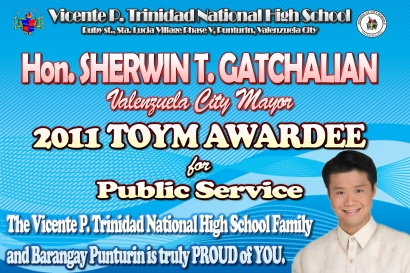 2011 TOYM Awardee for Public Service