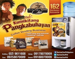 Barista Choi Vending Solutions Inc./Vending Machine Business in the Philippines